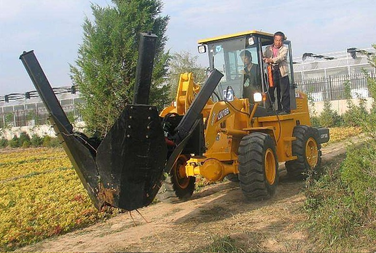 Tree mover machinery