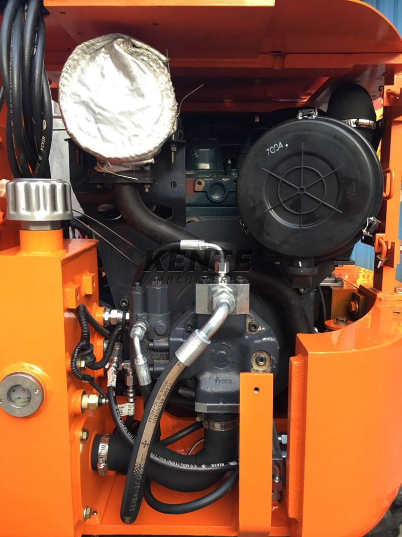 details of the KT15 1500KG small excavator